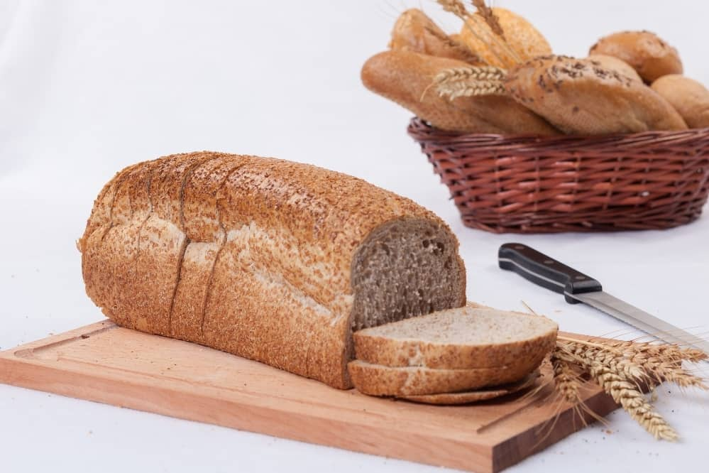 dry and crumbly bread